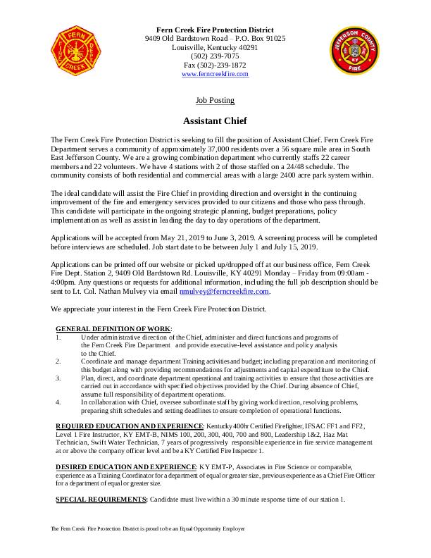 Fern Creek Fire Department – Page 2